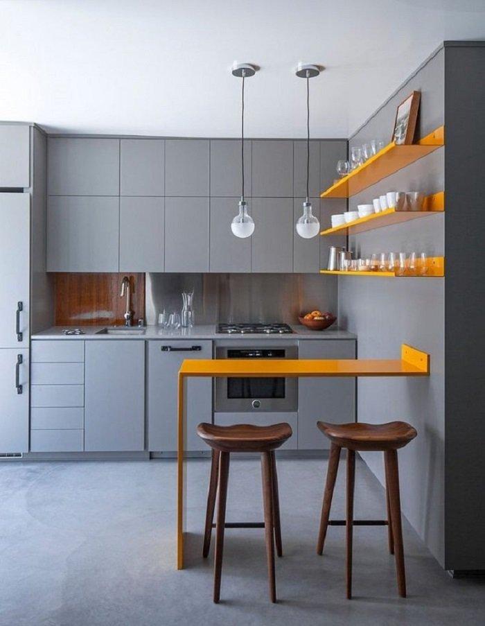самый красивый интерьер кухни