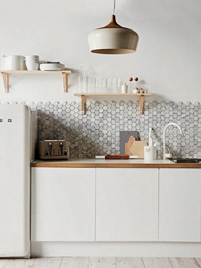 красивый интерьер на кухне