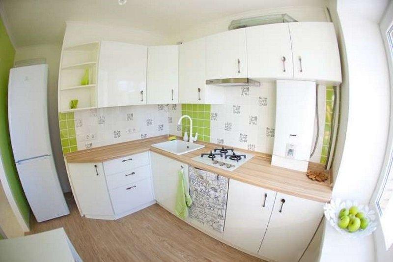 Красивый ремонт кухни
