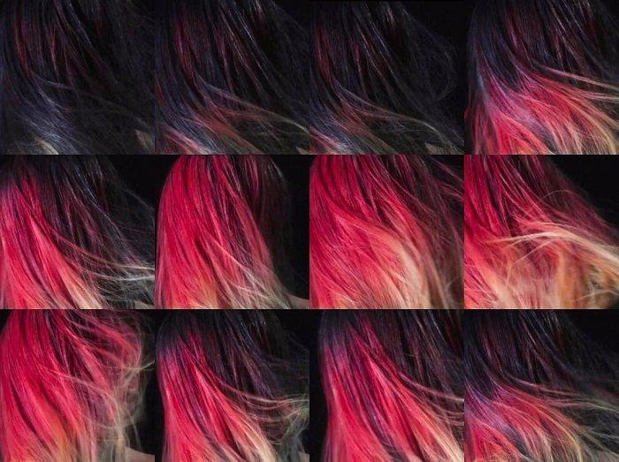 краска меняет цвет при температурном воздействии