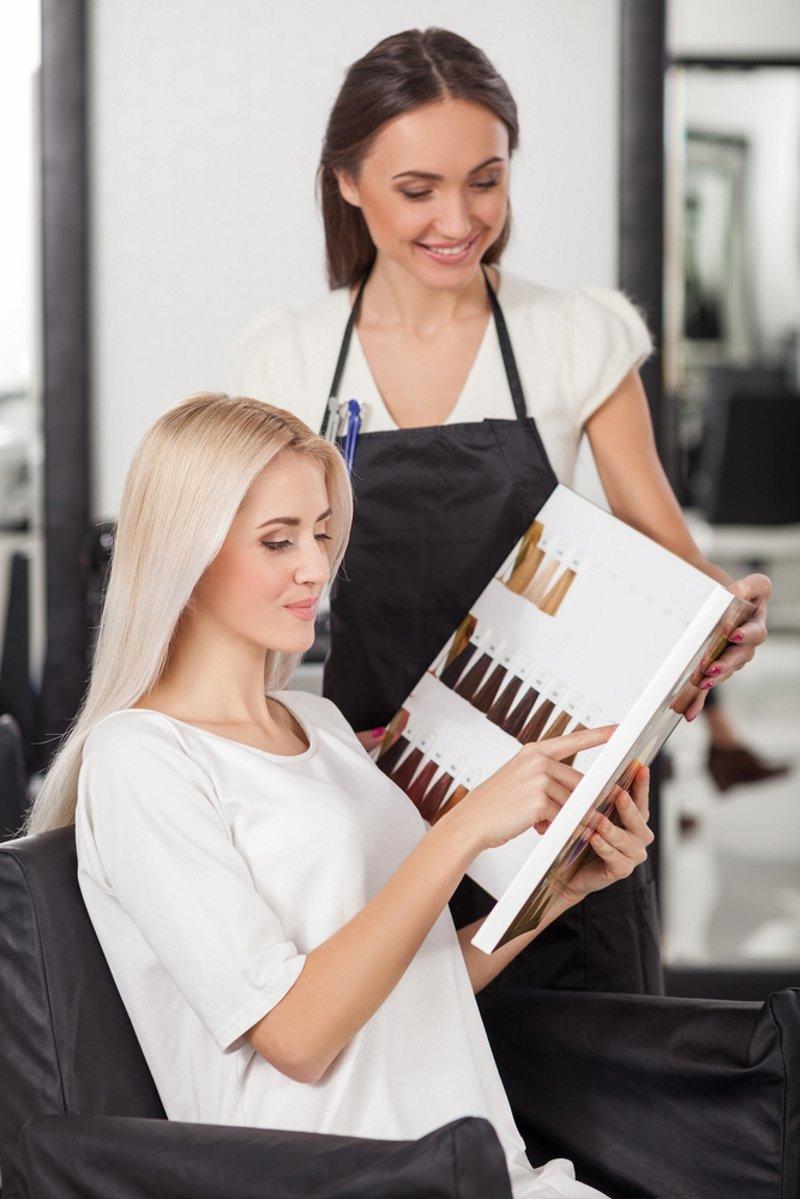 тренды в окрашивании волос