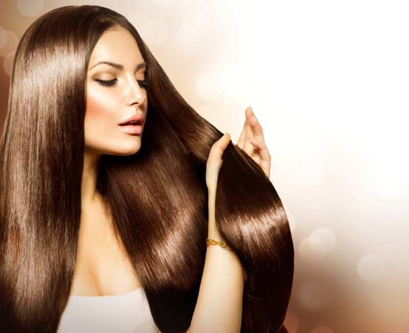 окрашивание волос для брюнеток