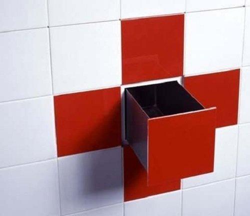 тайник в ванной комнате
