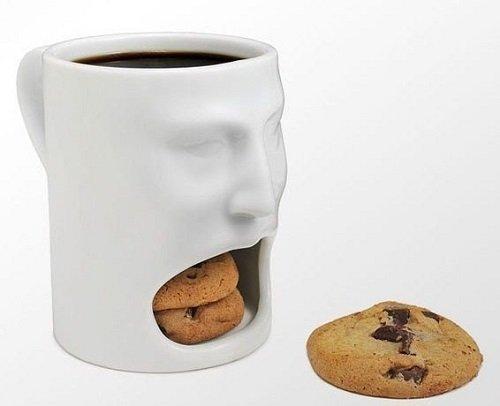 чашка с подставкой