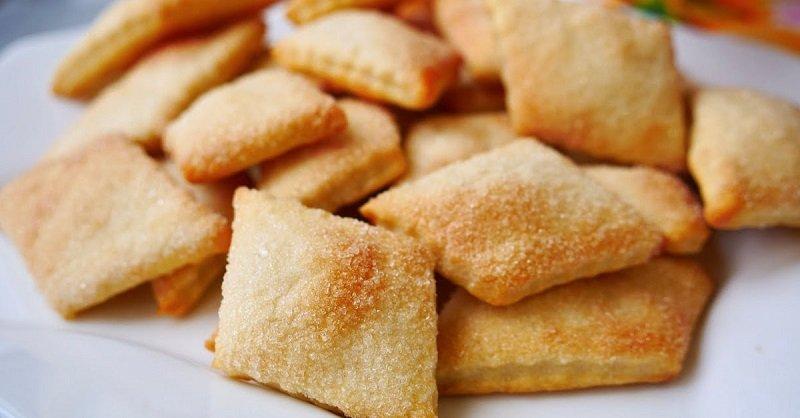 Печенье из трех продуктов, которое муж просит даже на завтрак
