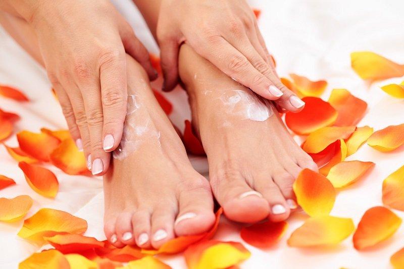 сделать домашний крем для ног