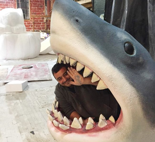 кроватка-акула