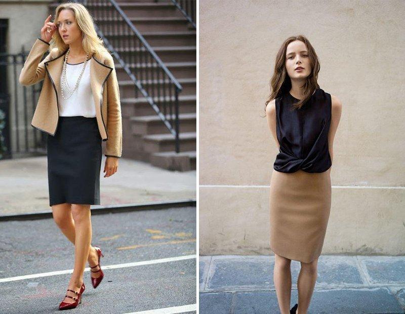 сочетания цвета в одежде для женщин