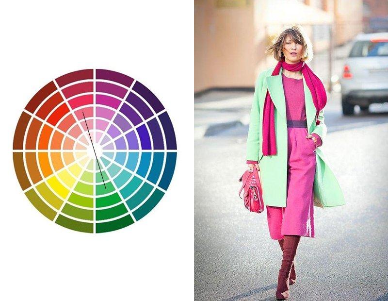 какие цвета можно сочетать