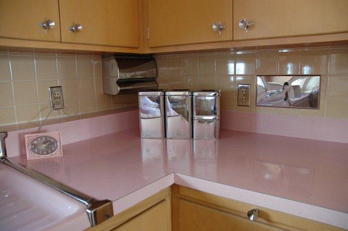 кухня в стиле 50-х