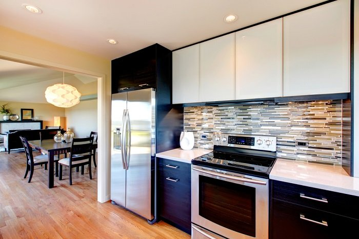 кухонный гарнитур под потолок