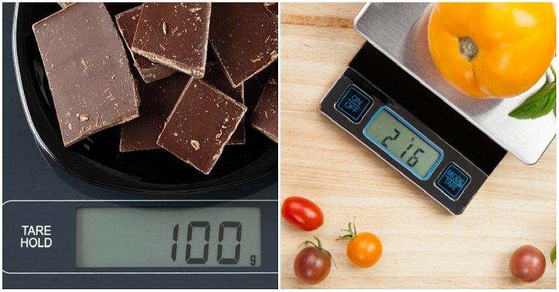 Кухонные весы как способ похудения