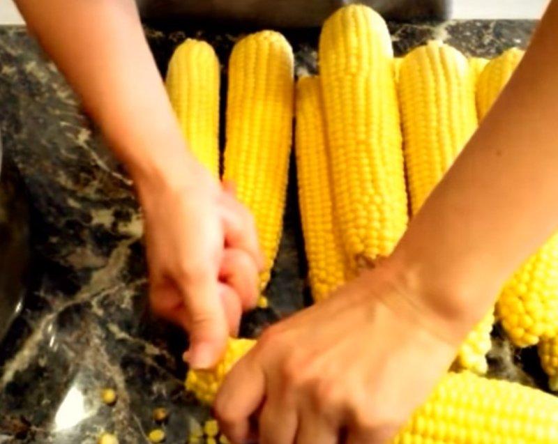 kukurydza na zimę w bankach