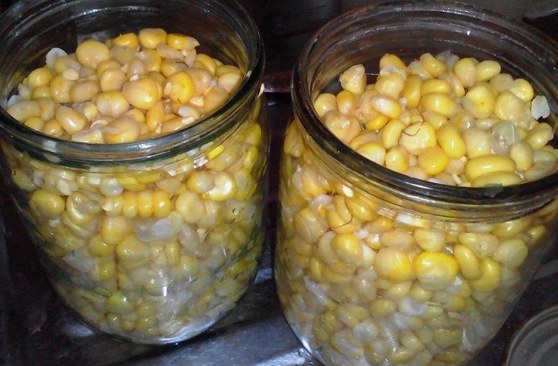 кукуруза на зиму рецепт