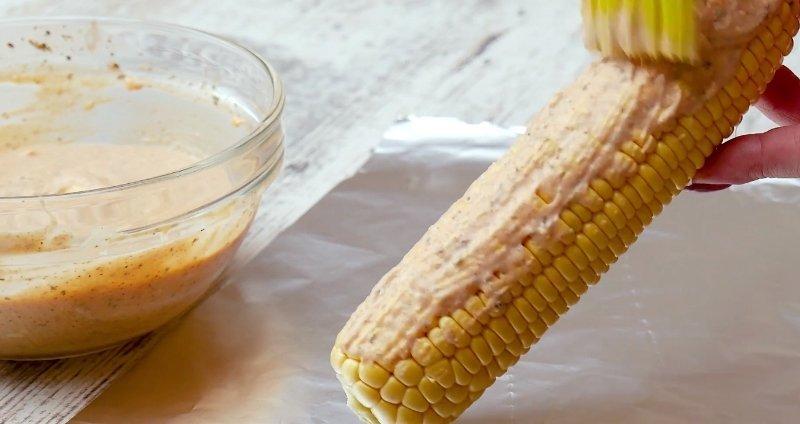 кукуруза в духовке без масла