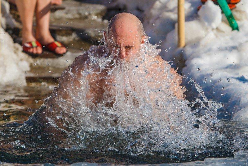 купание в проруби 2019