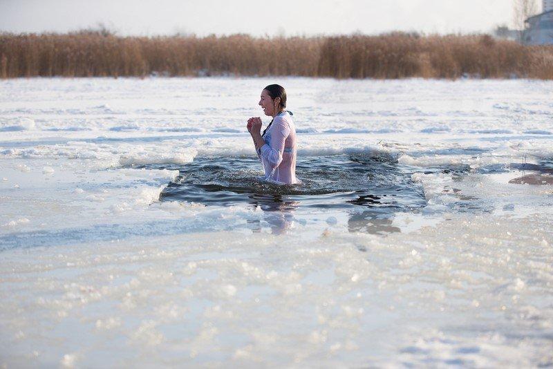 купание в проруби дети
