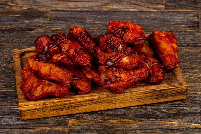 курица барбекю в духовке