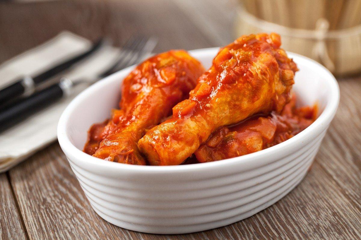 Рецепт курицы с луком на сковороде