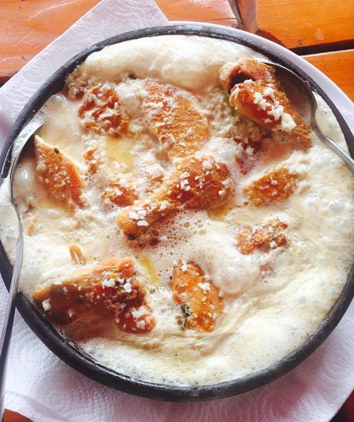 курица в орехах по-грузински