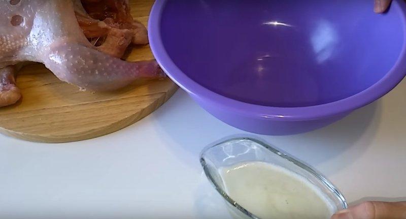 курица в духовке быстро