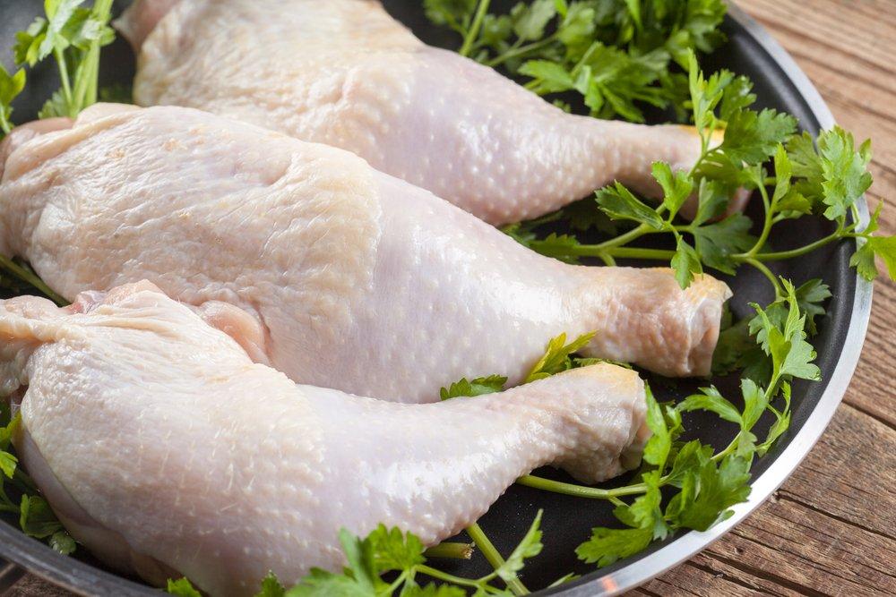 свежие куриные ножки