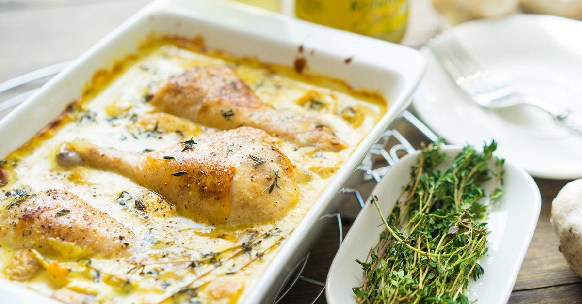 Курица в горчичном соусе с грибами: блюдо, способное раз и навсегда покорить твое сердце!