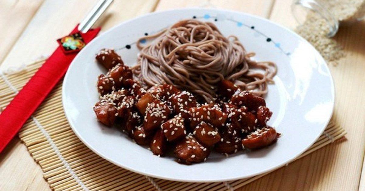 Курица в соусе «Терияки». Идеальное мясо, приготовленное на восточный мотив.