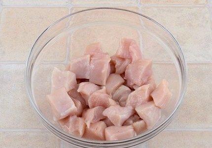 как приготовить куриный шашлык