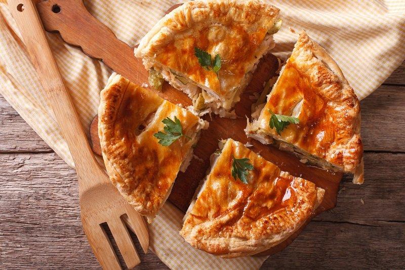 куриный пирог рецепт