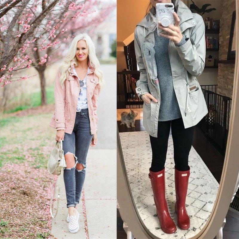 модные весенние куртки
