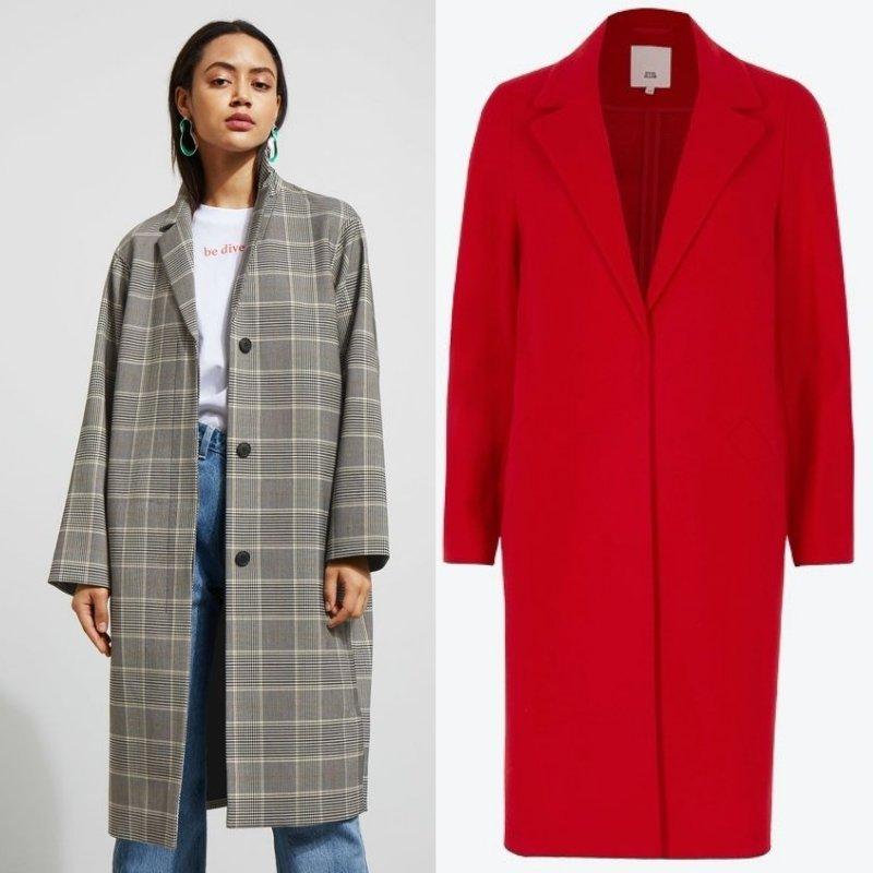 модные весенние кожаные куртки