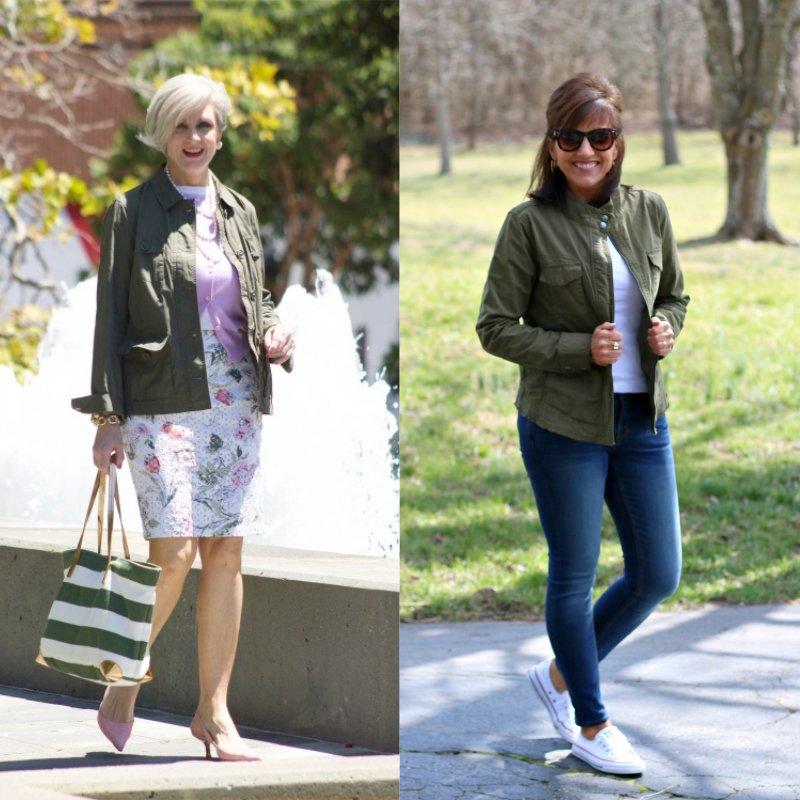 модные короткие весенние куртки
