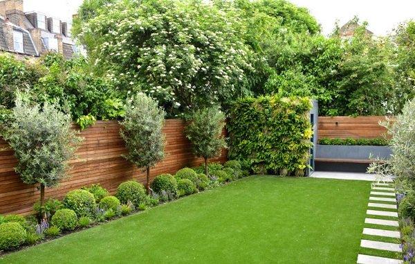 ландшафтный дизайн двора своими руками