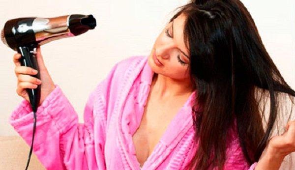 сушить волосы феном или нет