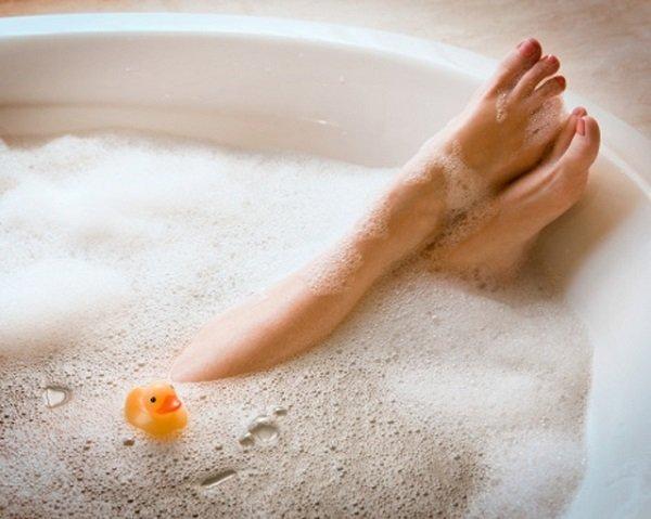 горячая ванна польза и вред