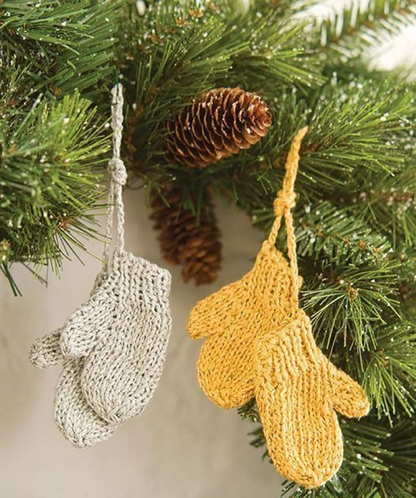 Маленькие игрушки своими руками на елку