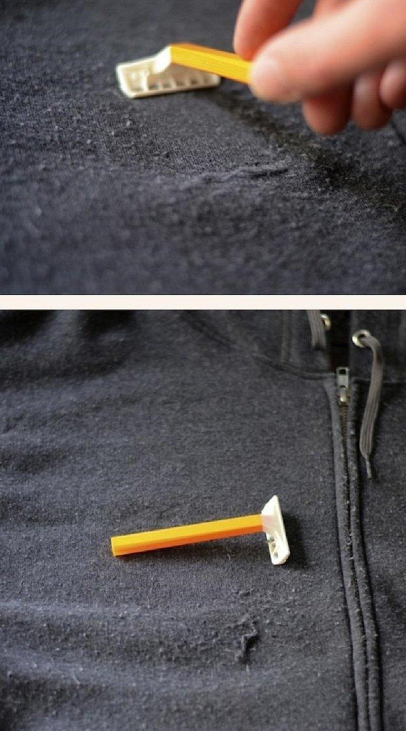 бритва и пальто