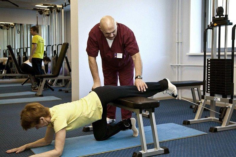 упражнения от боли в коленях