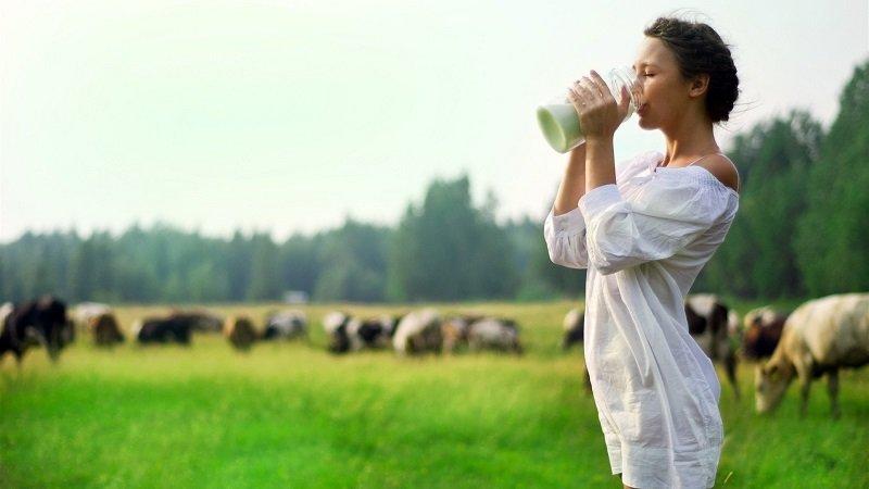 лечение молоком с боржоми