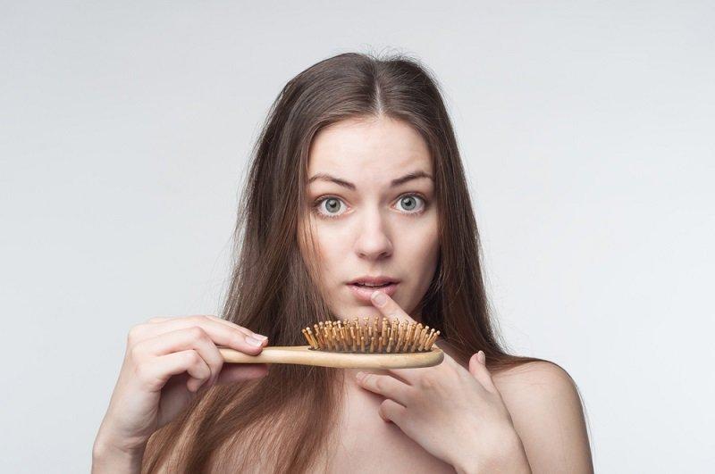 Тест на выпадение волос у женщин
