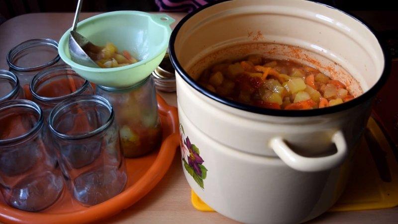 лечо с кабачков как готовить
