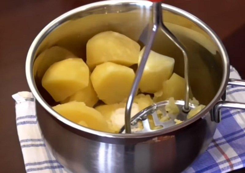 быстрые лепешки с картошкой