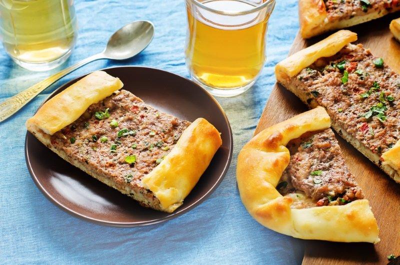 лепешки с мясом рецепт