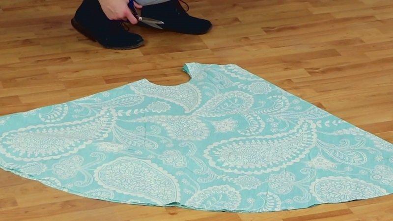 летнее платье без выкройки