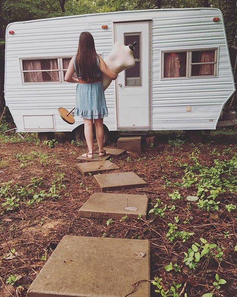 летний домик для ребенка