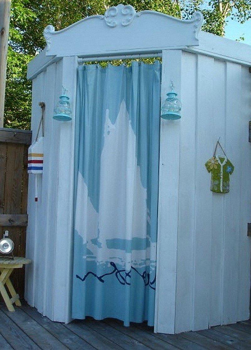 железный летний душ