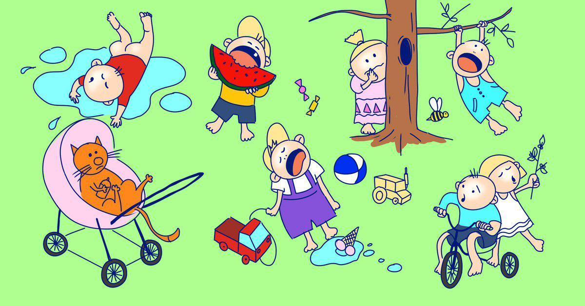 Летний отдых детей