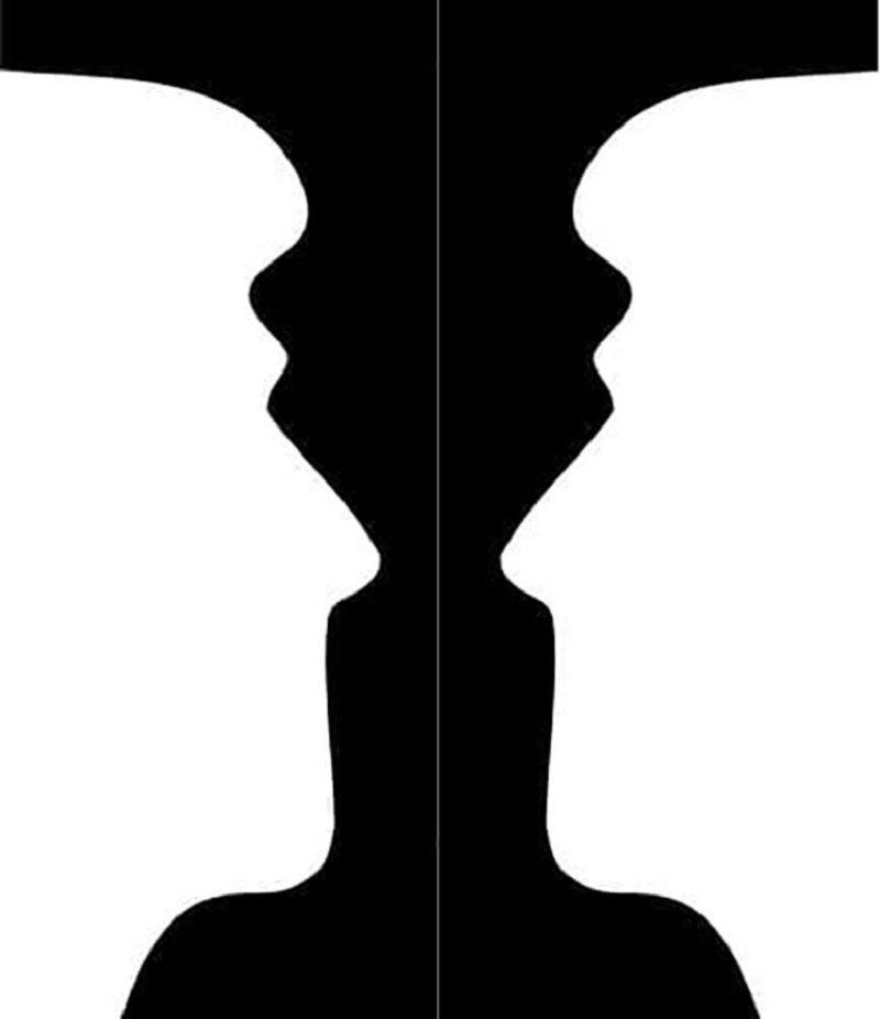 лица или светильники тест