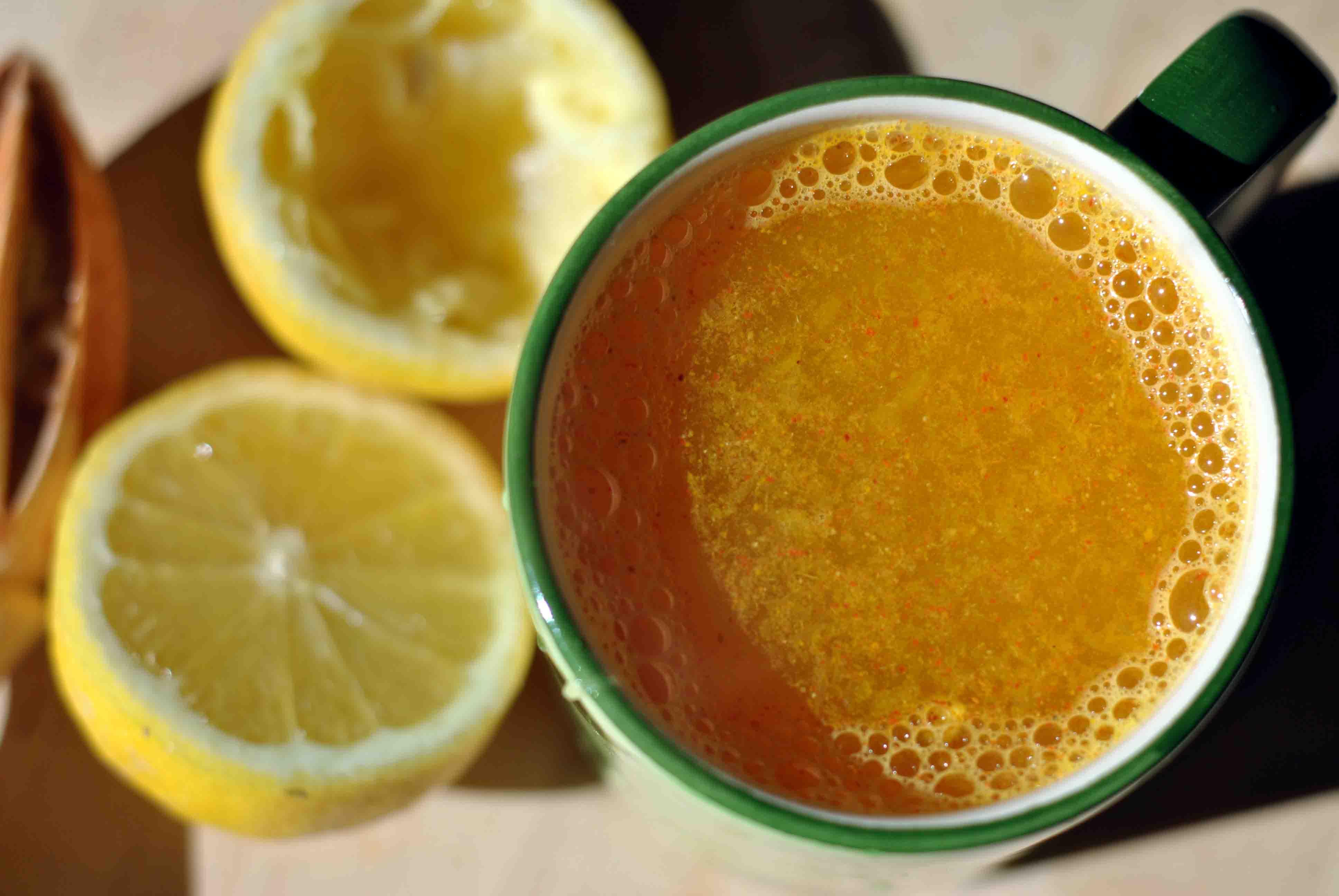 куркума с лимоном